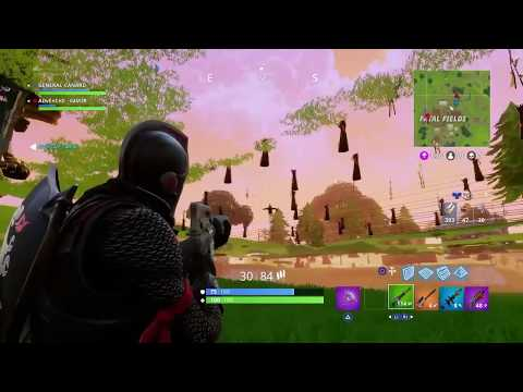 Passer sous la map (FORTNITE) (Glitch)