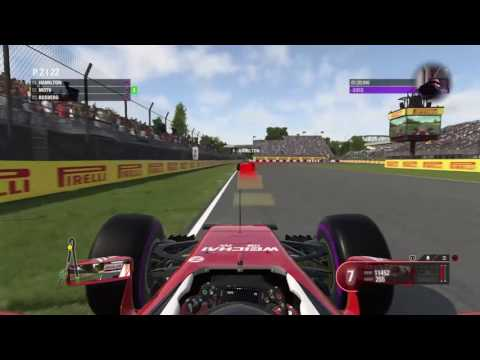 F1 2016 PS4 - Career Walkthrought - Gara -  Canada Montreal Vettel onboard