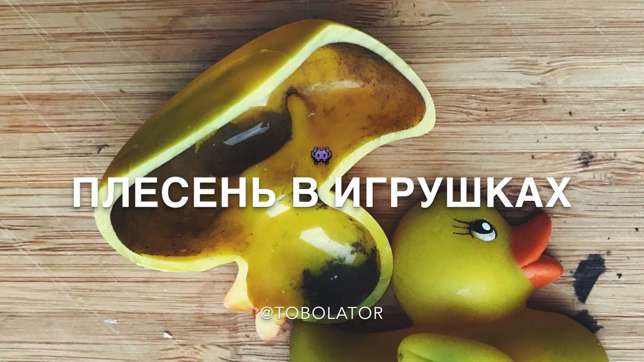 ПЛЕСЕНЬ В ИГРУШКАХ / РАЗРЕЗАЛИ ИГРУШКУ УТОЧКУ / ШОК ...