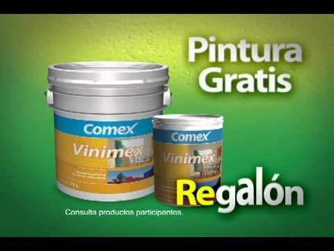 Comex regalon marzo 2011 youtube - Precio de pintura ...