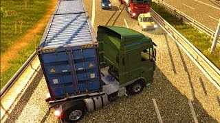 Euro Truck do work Carrying Shipping Toy For Kids