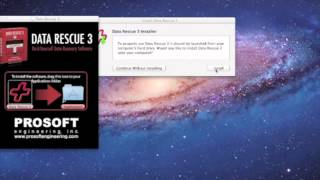 How to Use the Demo of Data Rescue 3 Mac Recovery Software