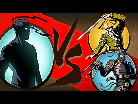 ОТШЕЛЬНИК ПОБЕЖДЕН мультик для детей игра Shadow Fight 2 бой с тенью - Видео приколы ржачные до слез