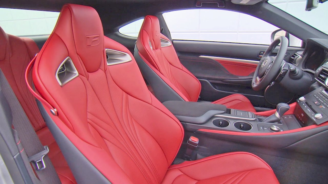 Lexus Rc F 2017 Interior Design Youtube