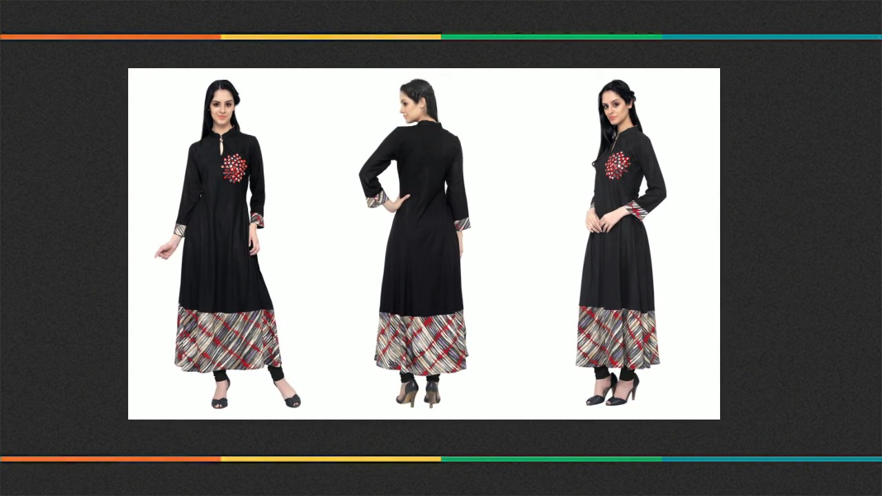 32e5dbe2efe0f Cotton Kurti Designs: Latest Designer Kurtis Neck Designs & fancy Patterns  for Stylish Look 💁 DNU - YouTube