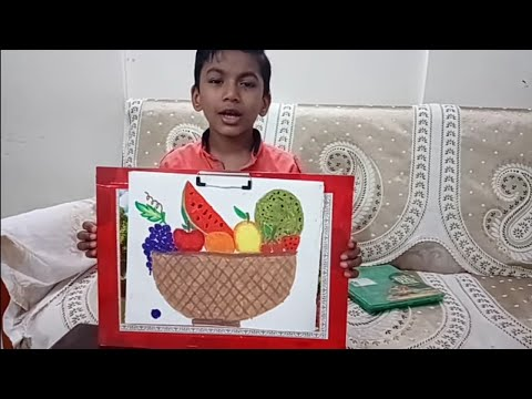 How To Draw A Fruit Basket