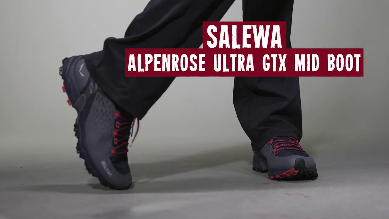 09c65ceda52c Salewa Women s Alpenrose Ultra GTX Mid Boot 2017 Review - YouTube