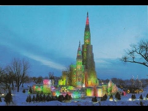 Demolition of 1986 Ice Palace at the St. Paul Winter Carnival