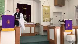 Boger Reformed Church Service; 5th Sunday in Lent.