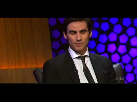 Colin O'Donoghue at Late Late Night