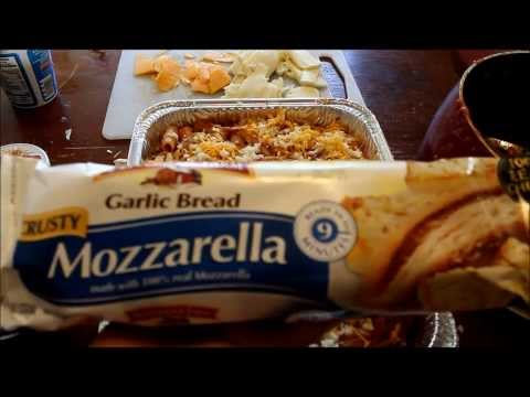 MY Baked Ziti with vegetarian alternative