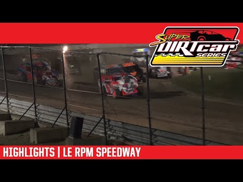 Super DIRTcar Series Big Block Modifieds Le RPM Speedway September 7, 2018 | HIGHLIGHTS