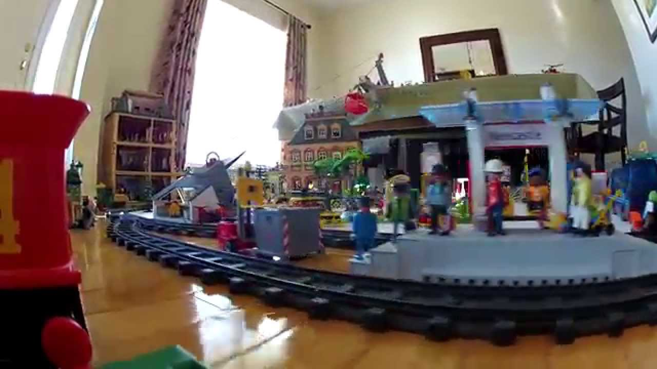 Gopro on western playmobil train youtube - Train playmobil ...