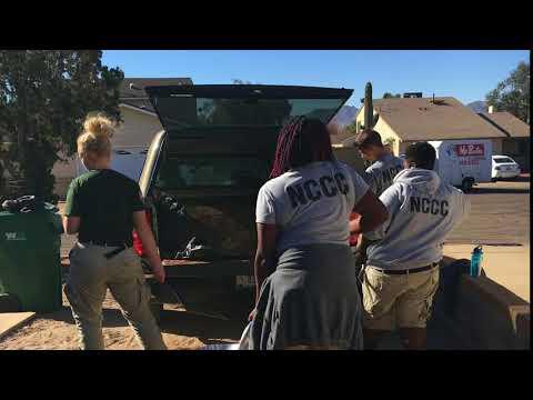 Tucson Community Schools Initiative - NCCC Team Earth 9