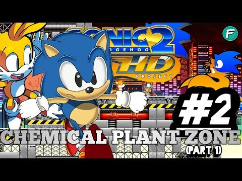 CHEMICAL PLANT-- REDEFINED! S2HD [Sonic 2 High-Definition] #2 (pt1)