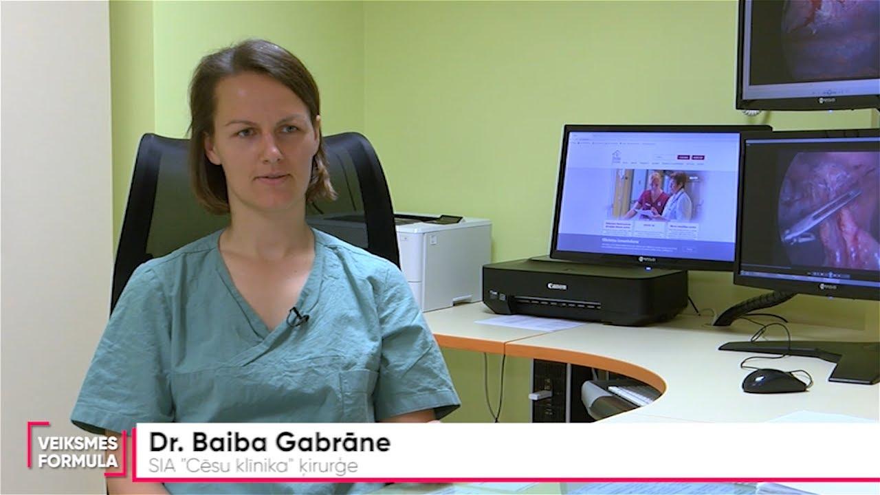 Mediķa portrets: ķirurgs Baiba Gabrāne