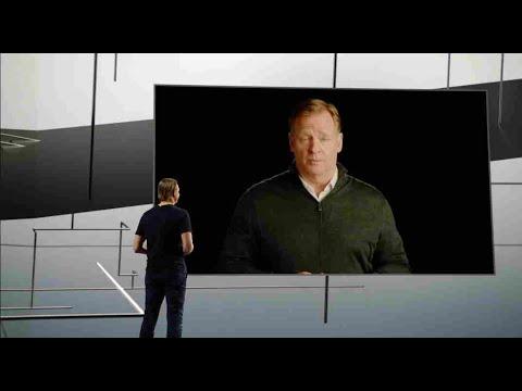 CES 2021: Verizon CEO Hans Vertberg & NFL Commissioner Roger Goodell Talk 5G Stadium Experience