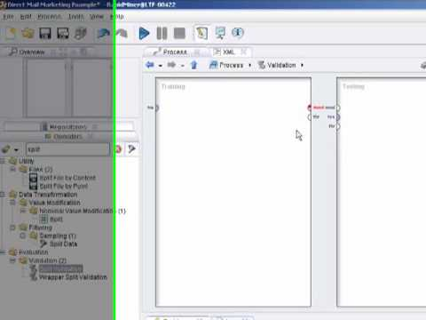 Rapidminer 5.0 Video Tutorial #6 - Creating Decision Trees for Market Segmentation