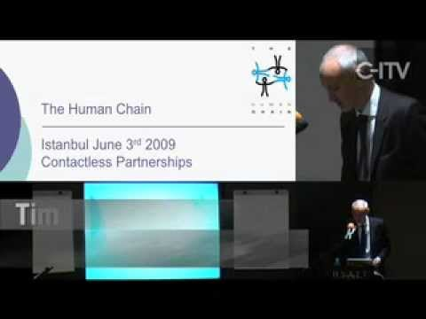 The Human Chain @ Contactless Intelligence Turkey 2009