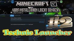 Technic Launcher in Minecraft Mods installieren leicht gemacht #2 Tutorial