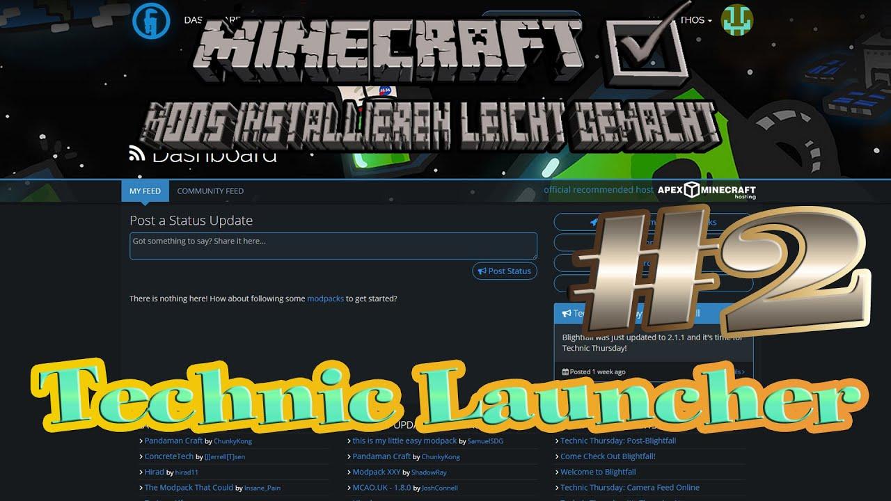 Minecraft technic Launcher