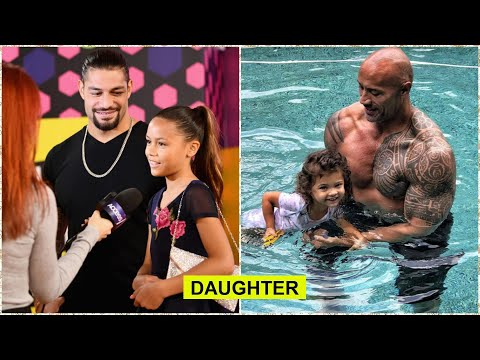 Top 5 WWE Superstars Cute Daughter 2018 - Roman Reigns, The Rock..  [HD]