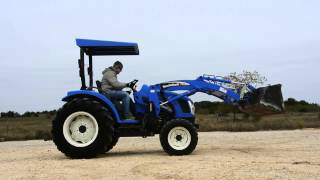 New Holland TC35 Tractor with Loader