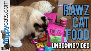 RAWZ Cat Food - Dry Food - Canned Food - Pouch Cat Food Unboxing