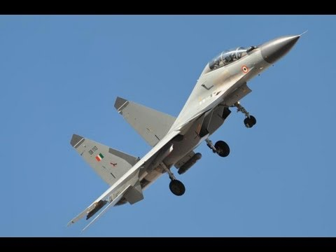 Indian Air Force SU-30 MKI Red Flag 2008