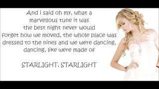 Taylor swift - Starlight (Lyrics)