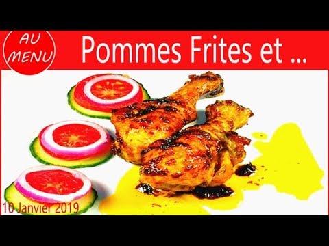 【***-cuisses-de-poulet-sautees-***】recette-facile-et-pas-chere-#vc0034-#vs00107-#au010101