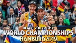 Beachvolleyball Weltmeisterschaft Hamburg - Thole/Wickler und ihr Weg zu Silber