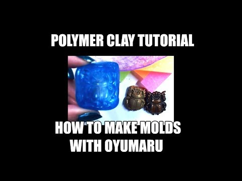 236 How to make molds with oyumaru - video tutorial