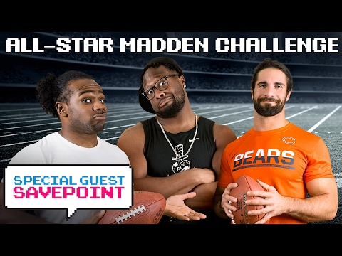 TB's GERALD MCCOY vs. SETH ROLLINS - The Champ LOSES?!?!: Madden Challenge — Special Guest Savepoint