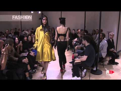 """YOHJI YAMAMOTO"" Full Show Spring Summer 2015 Paris by Fashion Channel"