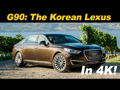 2017 Genesis G90 Review and Road Test DETAILED in 4K UHD