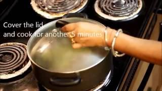 Palak Mushroom Curry Recipe Video - Mushroom-Spinach Curry