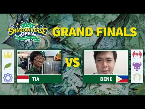 Tia vs Bene - Grand Finals SEAO Shadowverse Open February Cup 2019