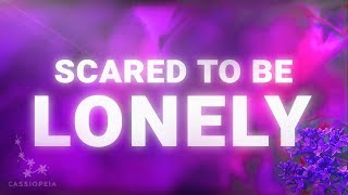 Martin Garrix - Scared To Be Lonely (Lyrics Video) feat. Dua Lipa