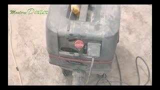 Aspirator Bosch Gas 25 in actiune