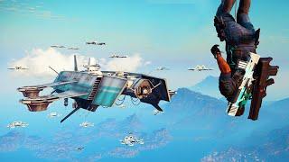 MASSIVE SKY FORTRESS DLC! (Just Cause 3 DLC)