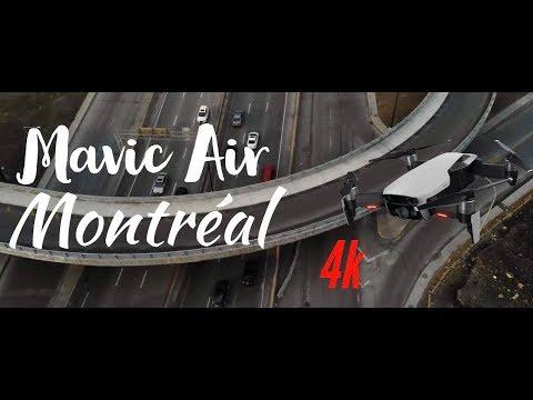 Montreal, Canada - 4k - DJI Mavic Air (Drone Ep.3)
