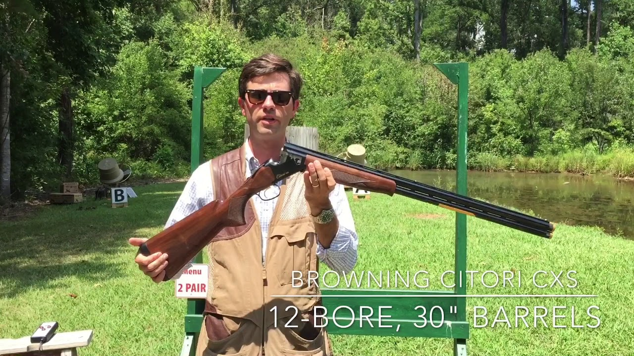Browning Citori CXS Gun Review