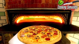 超本格お料理ゲームで「ピザ🍕」を生地から作ったらハプニングだらけだった【Cooking Simulator】