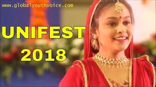 First place holder Madhura Deshpande of Pune performs Kathak (GYV)