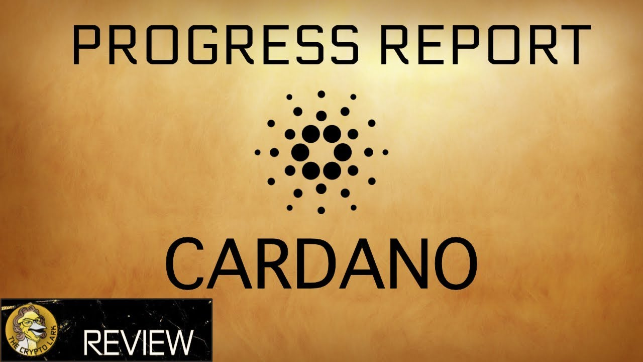 Cardano Update - Big Competition for Ethereum -  ADA Cryptocurrency