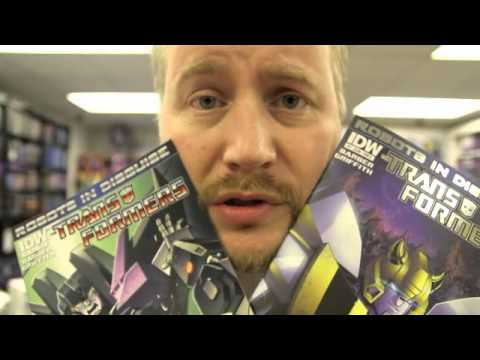 TRANSFORMERS Review! (More Than Meets The Eye, Robots in Disguise, Infestation 2)