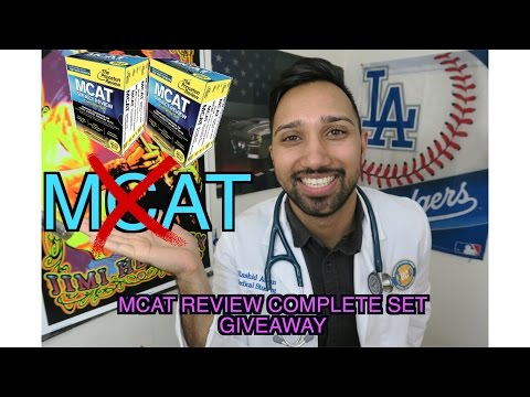 HOW I GOT INTO MED SCHOOL W/O AN MCAT + MCAT Review Set GIVEAWAY