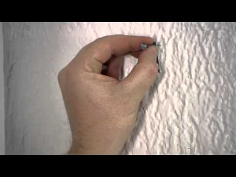 Nails Used for Curtain Rod Brackets : Nails, Screws & Wall Hangings