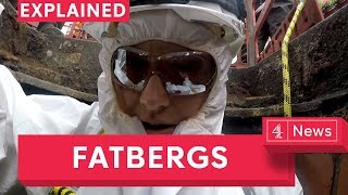 Finding fatberg: going underground in London